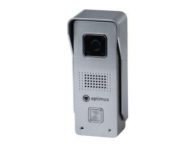 Панель видеодомофона Optimus DS-720W - фото, характеристики, купить в Барнауле