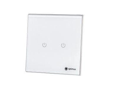 Сенсорный выключатель света двухкнопочный купить, фото, характеристики