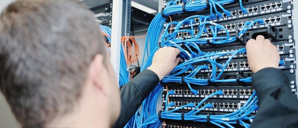 Монтаж локально-вычислительной сети