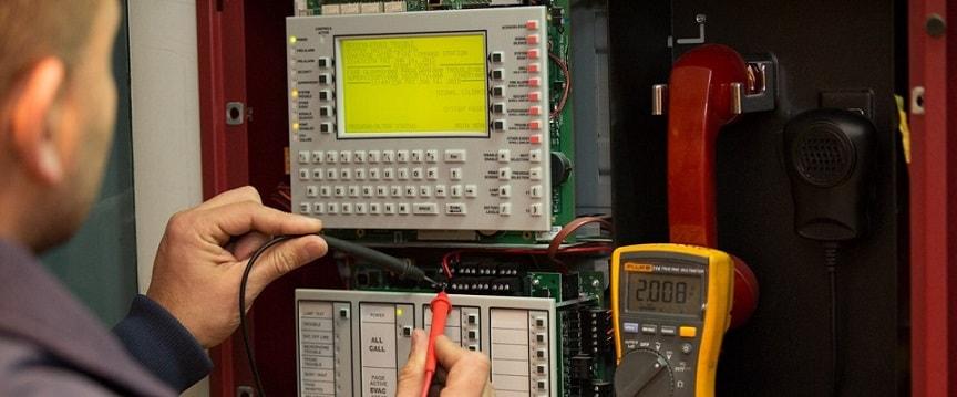 Монтаж и тестирование охранно-пожарной сигнализации