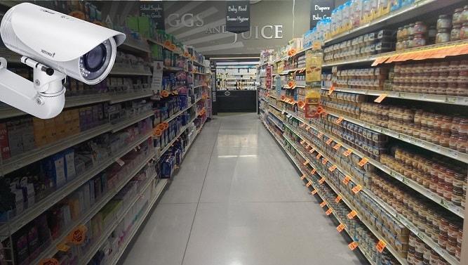 Видеонаблюдение для магазинов и торговых точек